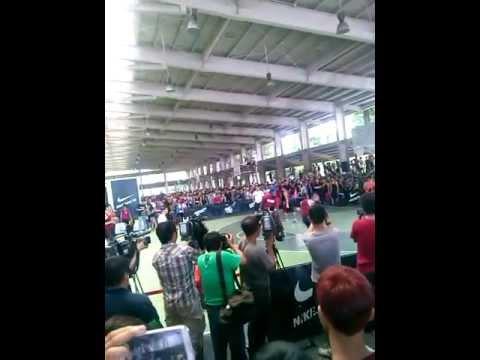 20130612James Harden in Kaohsiung Chung Cheng Martial Arts Stadium basketball court
