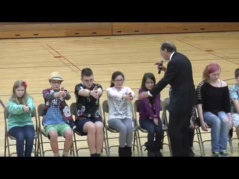 Hypnotist Paul Knight - Howards Grove Middle School, 2017