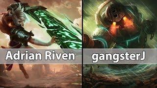 [ Adrian Riven ] Riven vs Nautilus [ gangsterJ ] Top  - Adrian Riven Stream