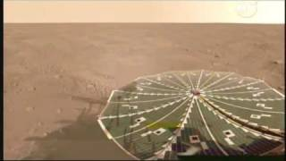 NASA Phoenix Lander Detects Snow on Mars