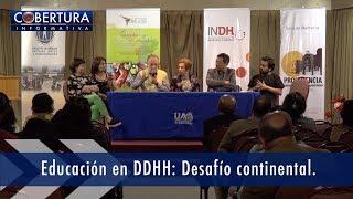 Educación en DDHH : Desafio Continental.