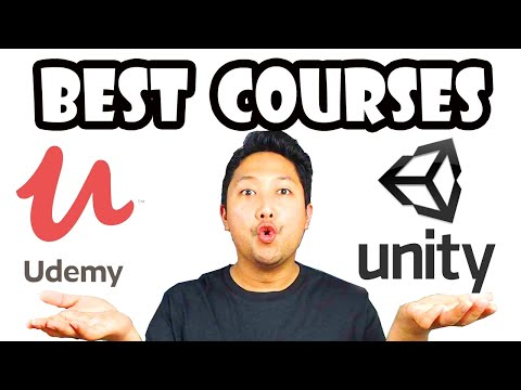 Best Udemy Courses To Learn Unity Game Development