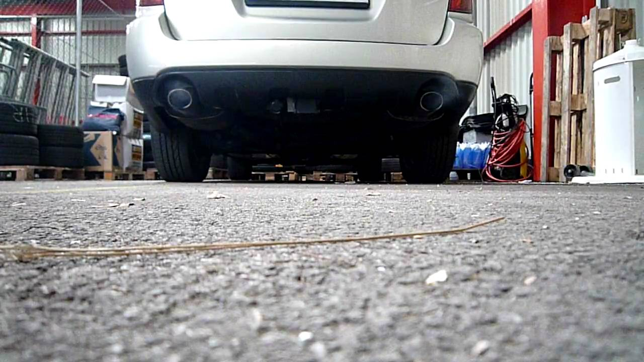 Subaru Legacy Cat Back Exhaust