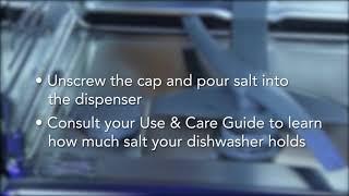 Loading Salt in Dishwasher