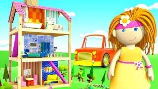 Домик куклы Бьянки - Предметы для ванной - Обучающие мультики