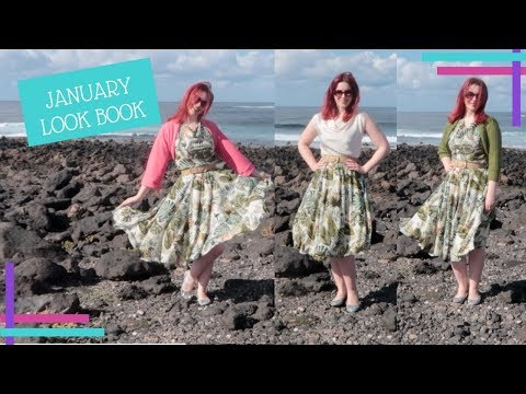 January 2018 Look Book and Pattern Review
