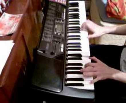 Jamie Bennett - Linkin park 'faint' piano cover
