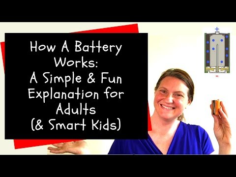 How Does A Battery Work? Simple & Fun Explanation for Adults (& Smart Kids)