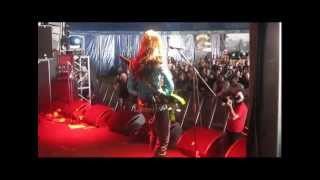 The Commander-In-Chief footage live at Bloodstock 2012