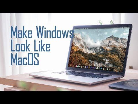 Make Desktop Look Like MacOS 2019
