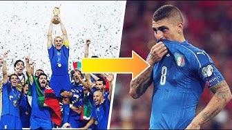 Mais qu'est-il arrivé à l'équipe nationale italienne ? - Oh My Goal