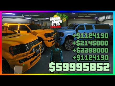 GTA ONLINE - SOLO FAST & EASY MONEY METHOD - DUPLICATE MODDED CARS 1.47 PS4/XB1/PC