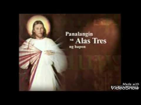 DZMM Energy Fm Jokes 3 O Clock Prayer ABS CBN Divine Mercy Karaoke Instrumental With Lyrics