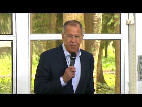 Сергей Лавров выступил