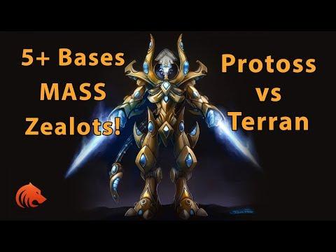 StarCraft 2: Massing Zealots to Victory!