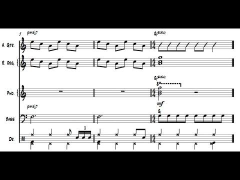 Kentucky Rain (Elvis Presley) - Arrangement for big band (Full score)