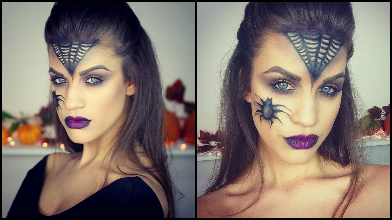 Glam witch halloween makeup tutorial karin dragos youtube baditri Images