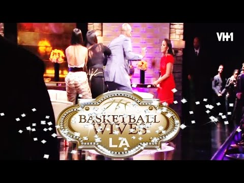 Basketball Wives LA Reunion Fight: Brandi Vs. Sundy