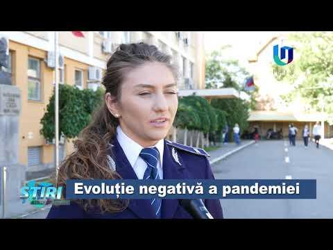 Evoluție negativă a pandemiei