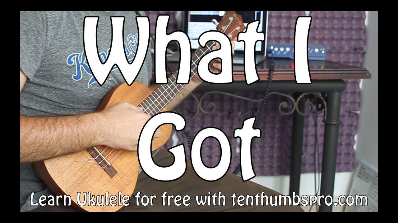 What i got sublime ukulele tutorial how to play solo with what i got sublime ukulele tutorial how to play solo with tabs two chord song youtube hexwebz Choice Image
