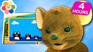 It's Learning Time!   Learn Shapes, Numbers, Counting, Colors & More!   Squeak! Videos for Kids
