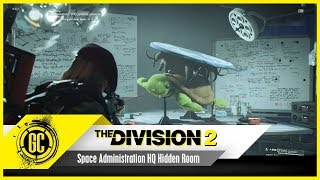 Space Administration HQ Hidden Room (The World Turtle) | The Division 2