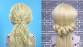 Уроки Прически Прически Бабочка Преобразования волос 2021