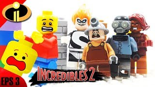 Lego Incredibles 2 Villains Revealed | Stop Motion Cartoon For Kids [Legomation #3]