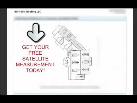 free satellite measurement video - Roof Measurements