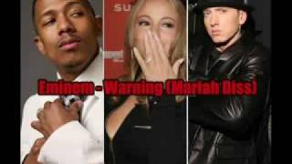 Eminem - The Warning Mariah Carey & Nick Cannon Diss / Beef Brand New Album Track Lyrics + Download