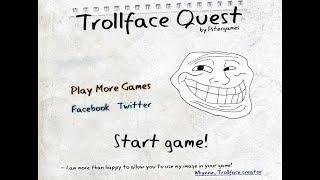 Игра Троллфейс Квест 1 Смотреть видео Троллфейс  Флеш игра Троллфейс Trollface игра онлайн бесплатно
