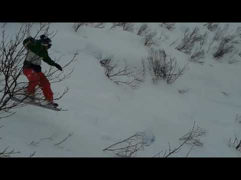 Pointe d'Angolon ski hors-piste Morzine