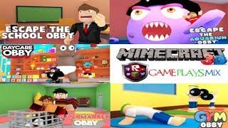 🔴 SPECIAL OBBYS & MINECRAFT 3D LIVE ROBLOX & MINECRAFT GAMEPLAYSMIX