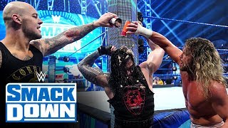 King Corbin chains up Roman Reigns: SmackDown, Dec. 6, 2019