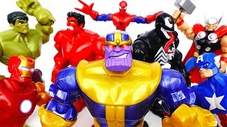 Marvel Villains Are Coming~! Go Avengers, Please Stop Them - ToyMart TV
