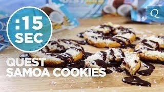 Samoa Cookies - #15secondrecipe