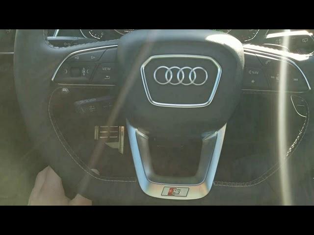 2018 Audi SQ5 Traffic Jam Assist in Action