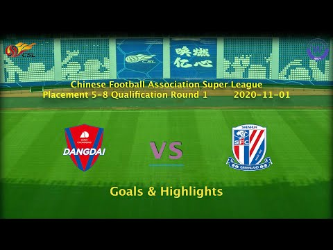 Chongqing Lifan Shanghai Shenhua Goals And Highlights