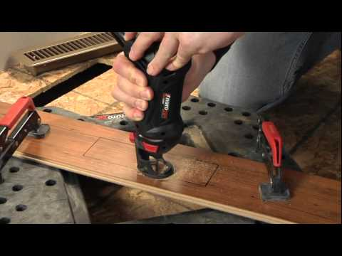 Cutting Laminate Flooring With The RotoZip RotoSaw