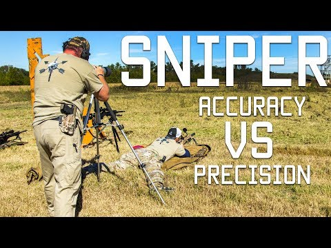Sniper Accuracy vs  Precision | How to read shot groups and know your range |  Tactical Rifleman