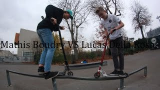 GAME OF SCOOT l Mathis Boudry VS Lucas Della Rosa