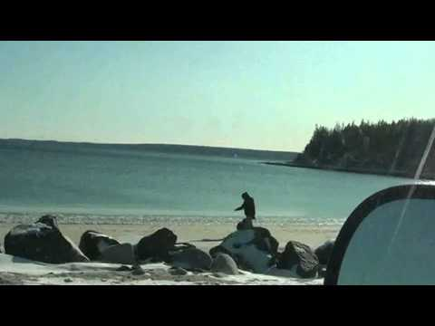 Queensland Beach, Halifax, County, Nova Scotia, Canada