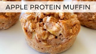Apple Protein Muffin Recipe  FaceBook LIVE (with a special guest!)