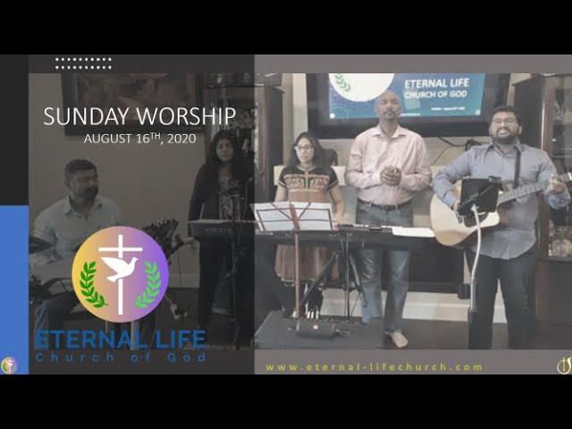 Worship Set - Sunday 8/16/20