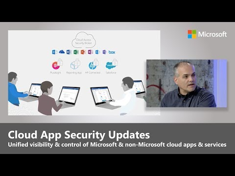 Microsoft Cloud App Security Updates