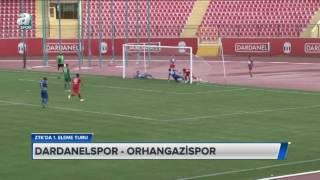 Dardanelspor 0 - 1 Orhangazispor | Ziraat Türkiye Kupası 1. Tur Maçı - Özet (06.09.2016)
