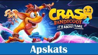 """Apskats: Crash Bandicoot 4: It's About Time - """"vai tas ir joks?"""""""