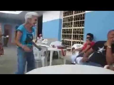 My Caribbean grandma dances to Macheso