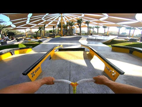 DUBAI'S MOST EXPENSIVE SKATEPARK! *4.7 MILLION DOLLARS*