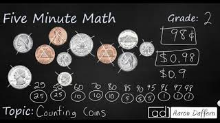 2nd Grade Math Counting Coins